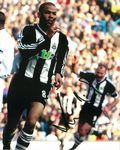 Kieron Dyer, Newcastle Footballer, Genuine Signed Autograph   10493